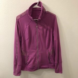 Tangerine running jacket pink large